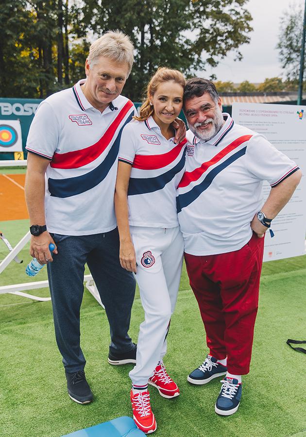 Дмитрий Песков, Татьяна Навка и  Михаил Куснирович