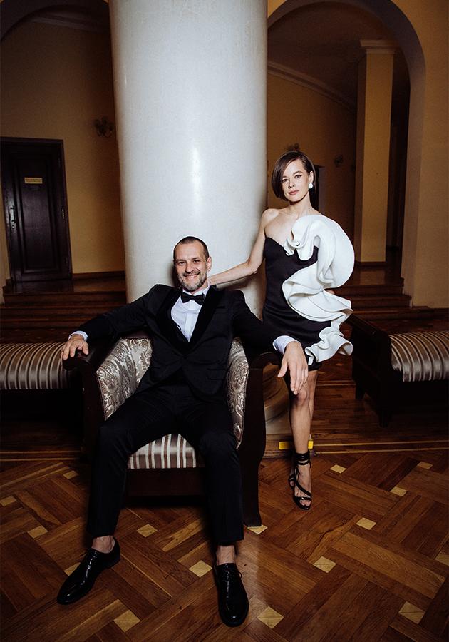 Катерина Шпица и Константин Адаев