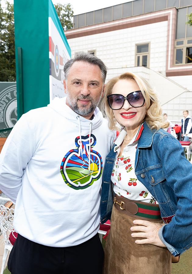 Олег Синик и Екатерина Моисеева
