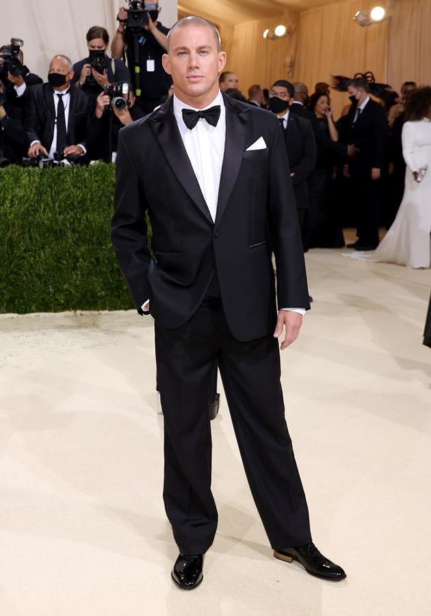 Ченнинг Татум в костюме Versace
