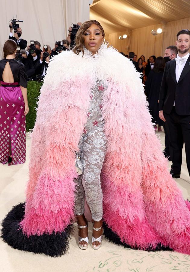 Cерена Уильямс в образе Gucci
