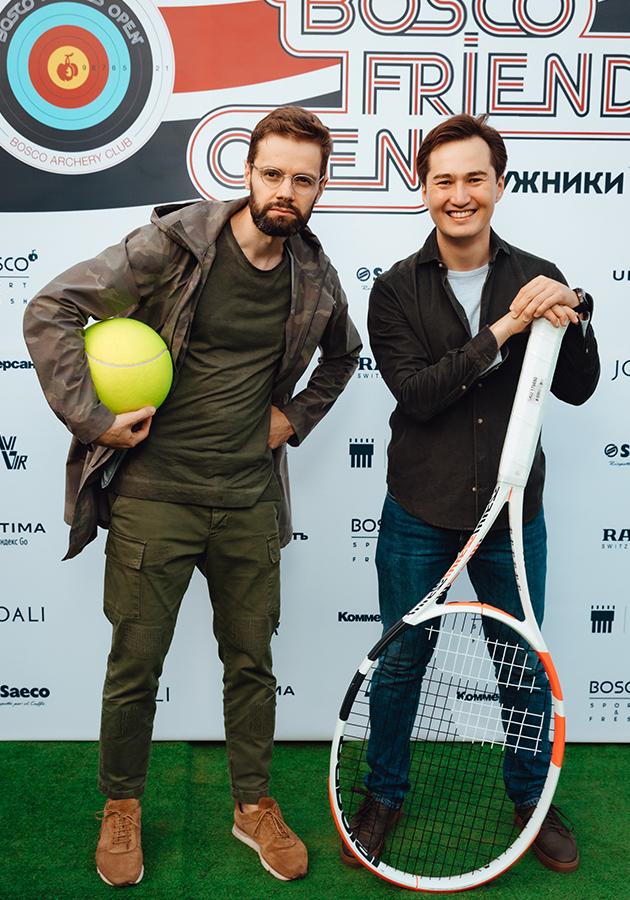 Дмитрий Саава и Валерий Ан