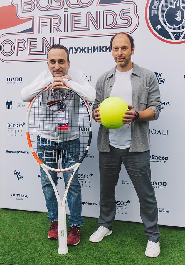 Гор Нахапетян и Дмитрий Ямпольский