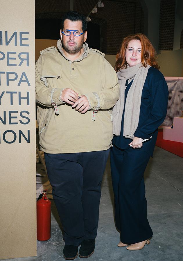 Ян Яновский и Елена Фейгин