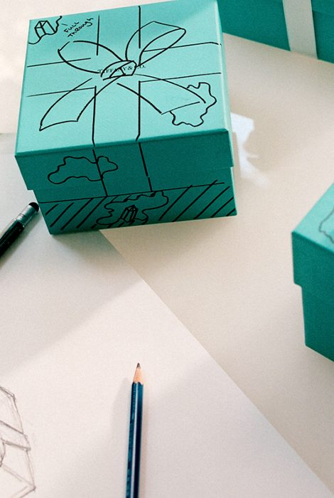 Tiffany Blue Box: голубые коробочки Tiffany &Co. превратятся вскульптуры