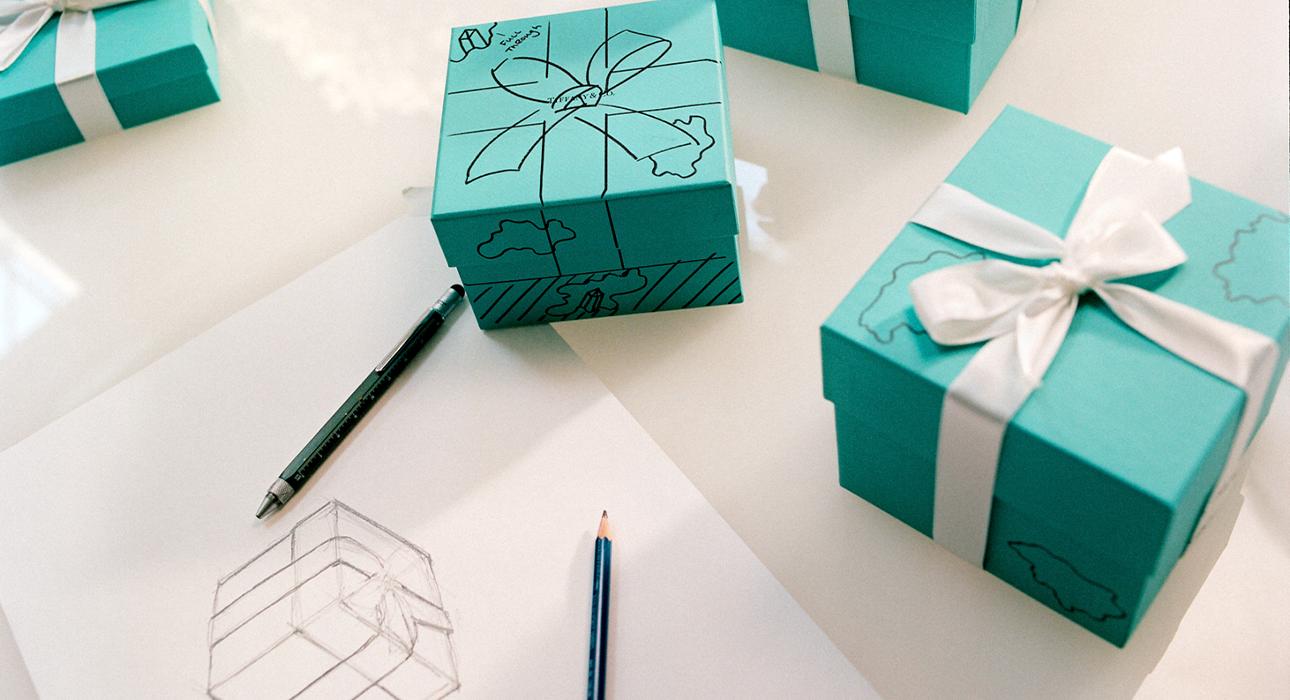Tiffany Blue Box: голубые коробочки Tiffany & Co. превратятся в скульптуры