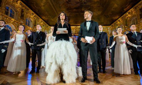 Дрезденский оперный бал вСанкт-Петербурге: фейерверк, выступление Scorpions иКубанский казачий хор