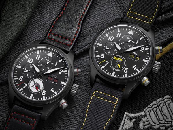 Три новых хронографа IWC Schaffhausen вколлекции Pilot's Watches