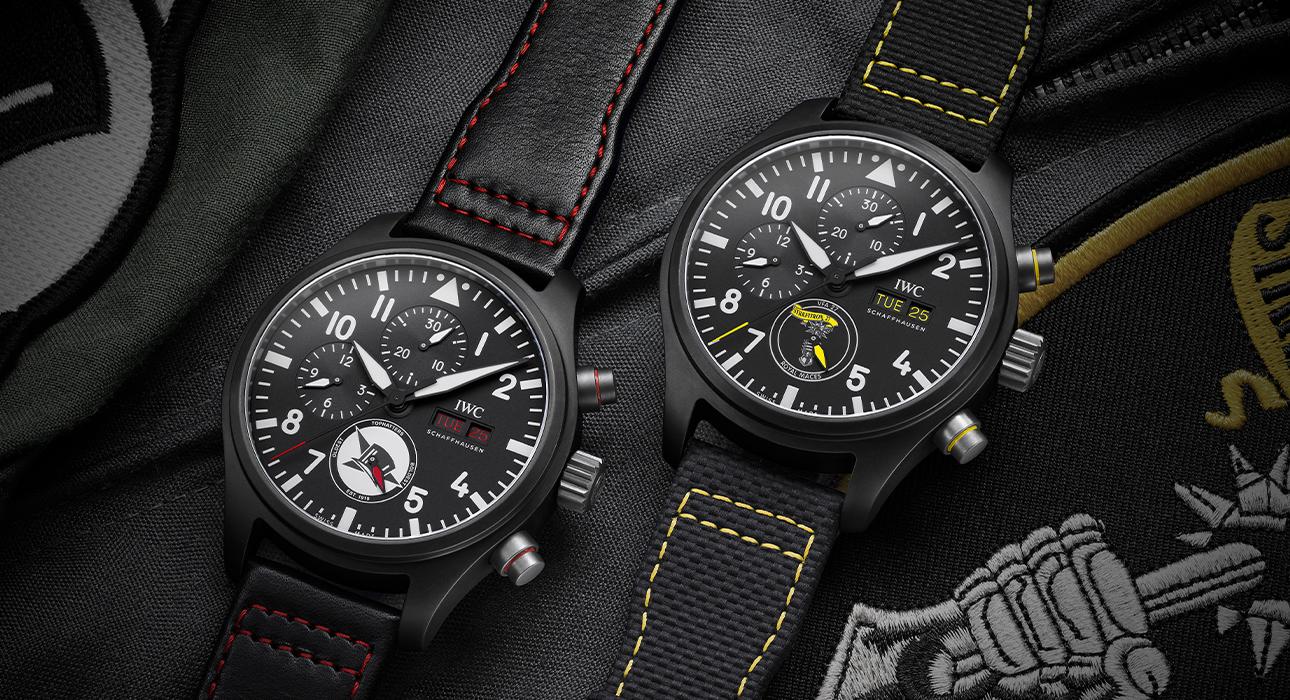 Три новых хронографа IWC Schaffhausen в коллекции Pilot's Watches