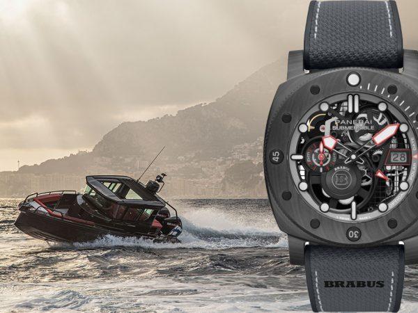 Идея подарка: Panerai &Brabus создали часы для погружения