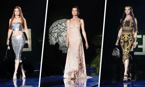 Fendace: Versace иFendi представили совместную коллекцию наНеделе моды вМилане