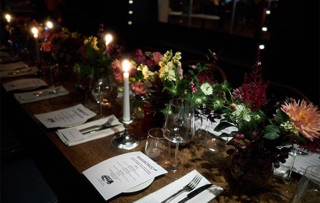 Гости гастрономического ужина в BarBosco в честь презентации нового меню