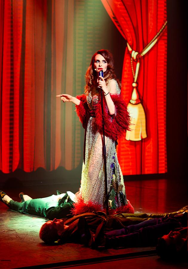 Премьера шоу «Абсолютно нага» с Екатериной Варнавой в театре-кабаре Crave
