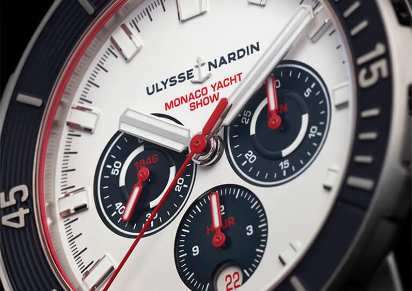 Часы & Караты: Ulysse Nardin представил модели Diver Monaco Yacht Show и Marine Mega Yacht на яхт-шоу в Монако