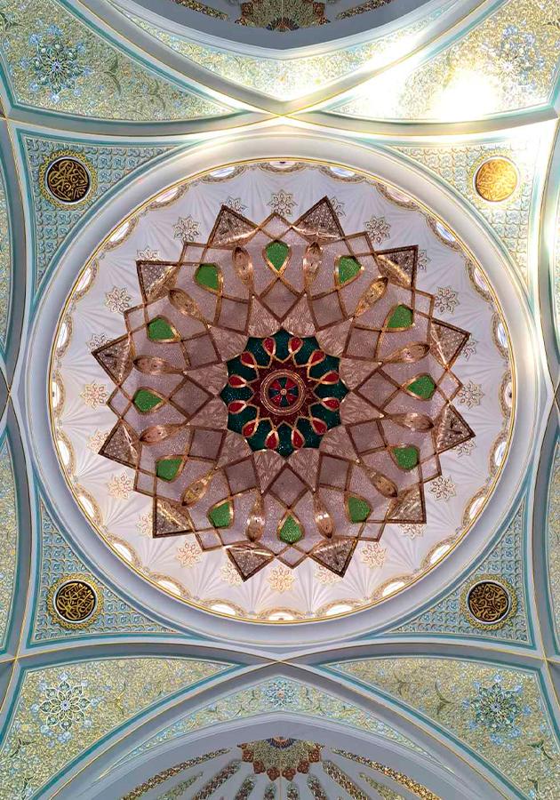 Annie Hysteria. Мечеть. Абстракция. Honor