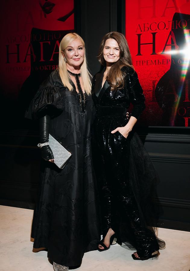 Юлия Янина и Елизавета Павлова (Crave) в Yanina Couture