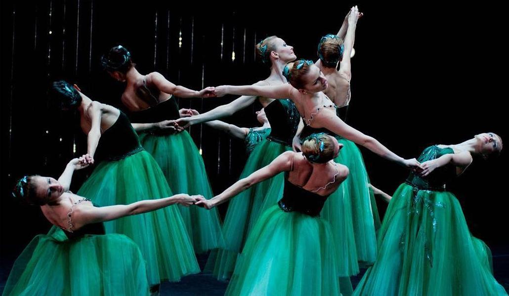 Балет Джорджа Баланчина «Драгоценности» в исполнении артистов Большого театра, 2018 год
