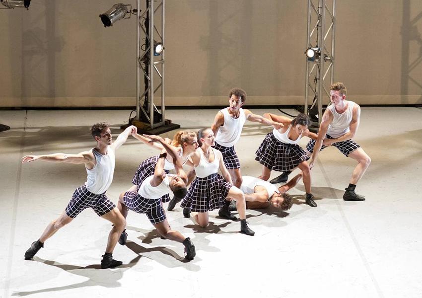 Балет «Hearts & Arrows», танцевальная трилогия «Gems», хореограф Бенжамен Мильпье