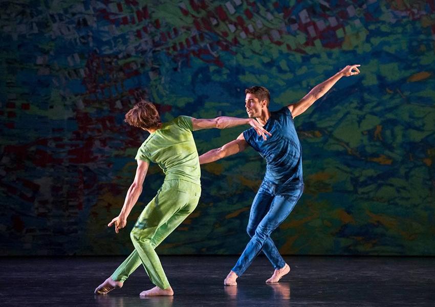 Балет «On the Other Side», танцевальная трилогия «Gems», хореограф Бенжамен Мильпье