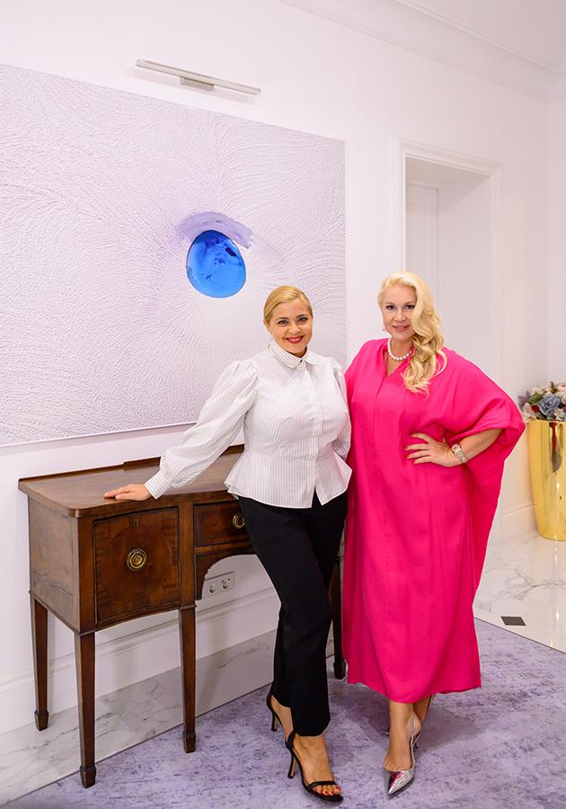 Ирина Пегова и Екатерина Одинцова