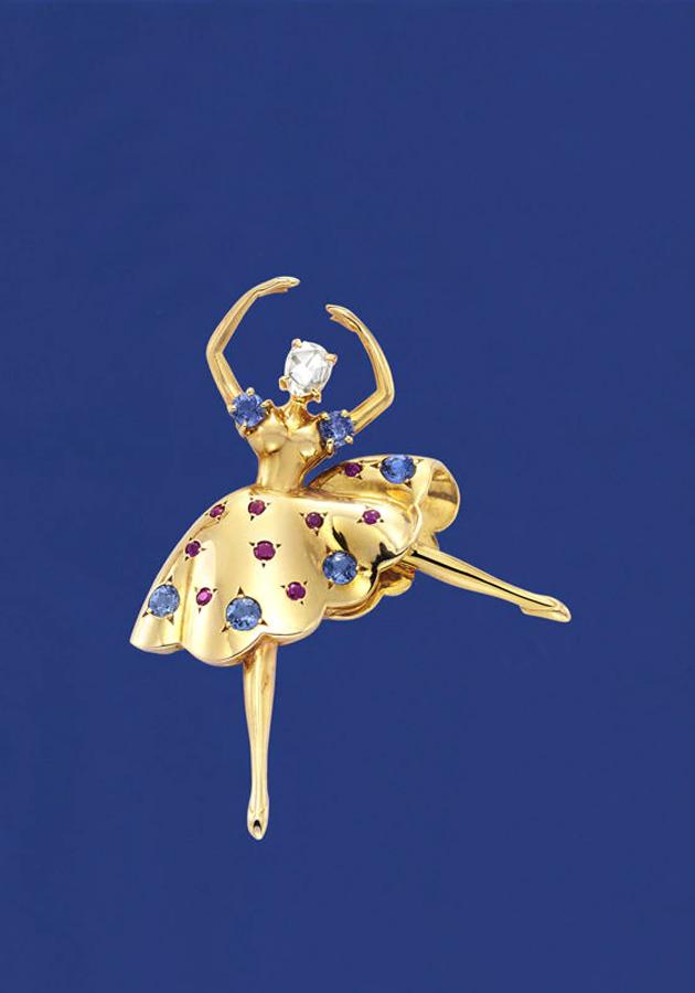 Брошь Dancer, посвященная балету «Щелкунчик», 1944 год