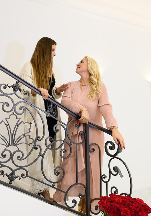 Анна Тихомирова и Екатерина Одинцова