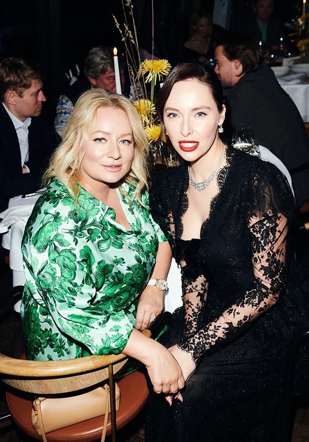 Татьяна Сабуренкова (Posta-Magazine) и Ирина Зарькова