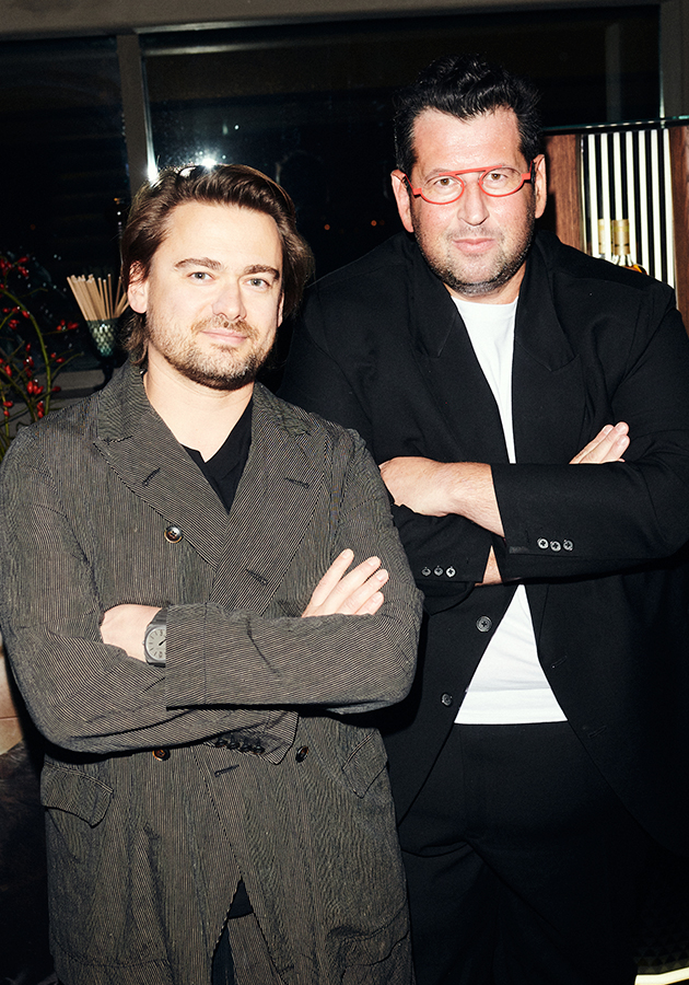 Борис Зарьков и Ян Яновский