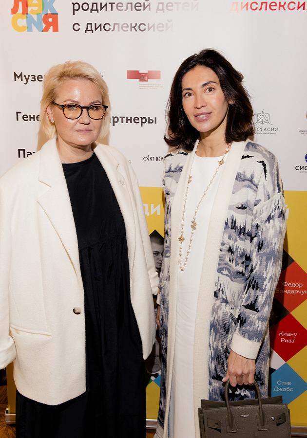 Мария Пиотровская и Лара Лычагина