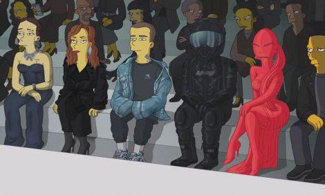Дом Balenciaga представил новую коллекциюи... новый эпизод «Симпсонов»