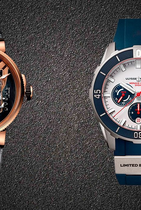 Часы &Караты: Ulysse Nardin представил модели Diver Monaco Yacht Show иMarine Mega Yacht наяхт-шоу вМонако