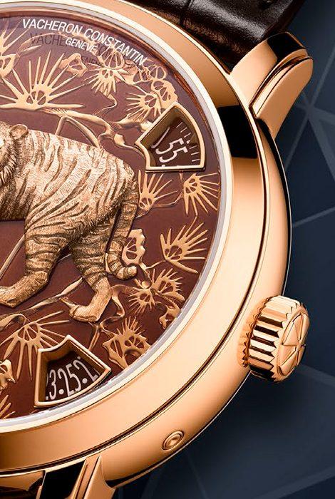 Часы &Караты: предновогодняя серия эксклюзивных моделей часов Vacheron Constantin Métiers d'art Chinese Zodiac