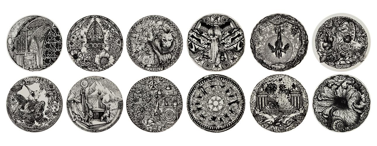 Дизайн &Декор: коллекция посуды Dior Maison вчесть Хэллоуина