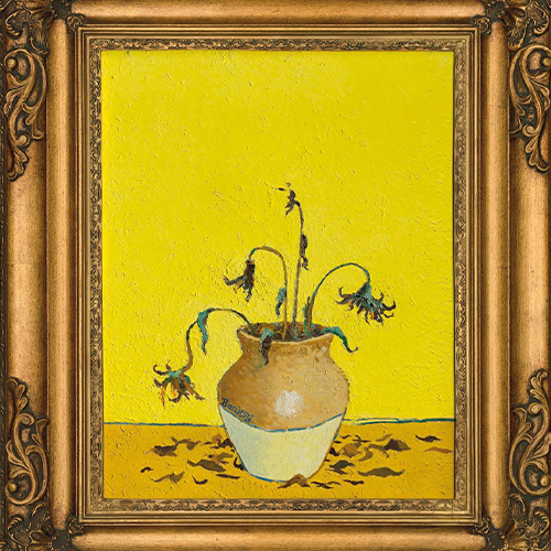 «Подсолнухи сзаправки»: наторгах Christie's «Искусство ХХIвека» будет выставлена картина Бэнкси изколлекции сэра Пола Смита