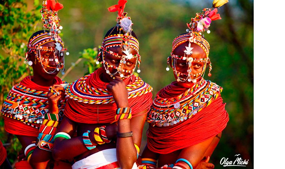 Ольга Мичи. Племя самбуру. Национальный парк Самбуру, Кения