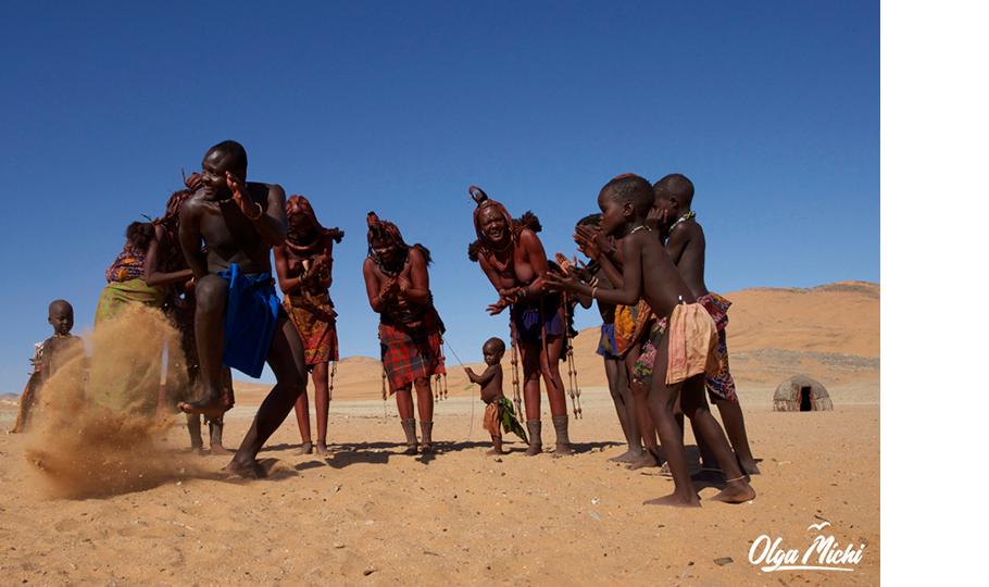 Ольга Мичи. Племя химба, Намибия