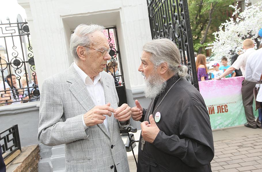 Алексей Баталов и Михаил Ардов