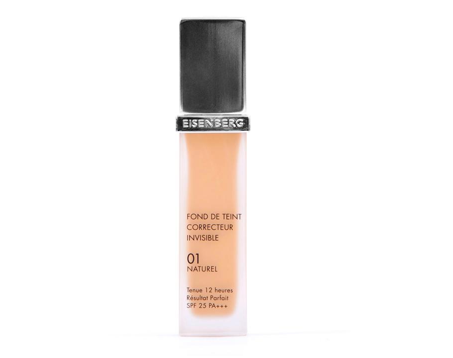Тональный крем Fond deTeint Correcteur Invisible, 01, Esienberg:марка Eisenberg зарекомендовала себя как отличная марка для ухода закожей, поэтому мыочень обрадовались появлению макияжа веелинейке!