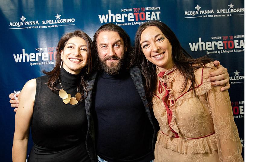 Гаяне Бреиова, Мирко Дзаго иМария Лобанова