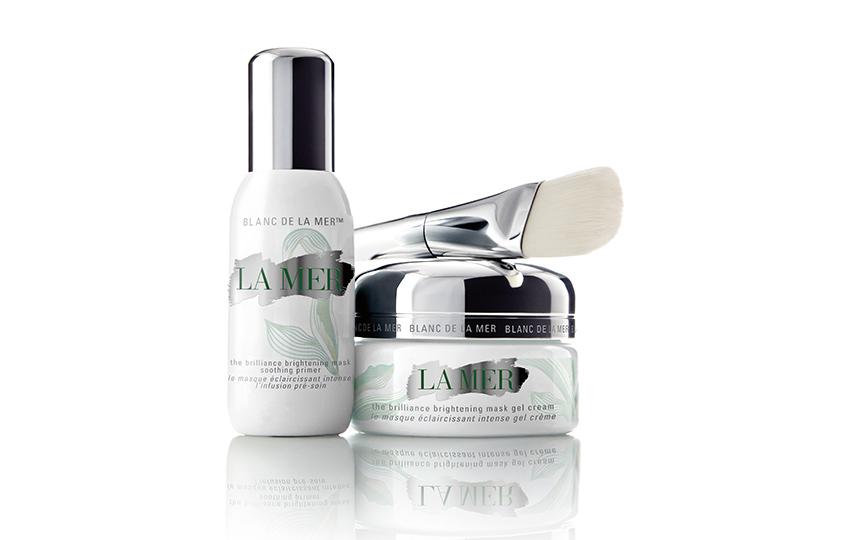 Гель-маска иуспокаивающий праймер Blanc deLaMer, LaMer, выравнивает иувлажняет кожу, предотвращая появление морщин.