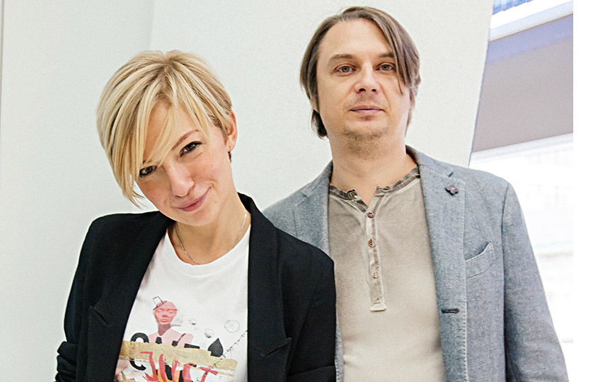 Саша Сутормина иВладимир Басов