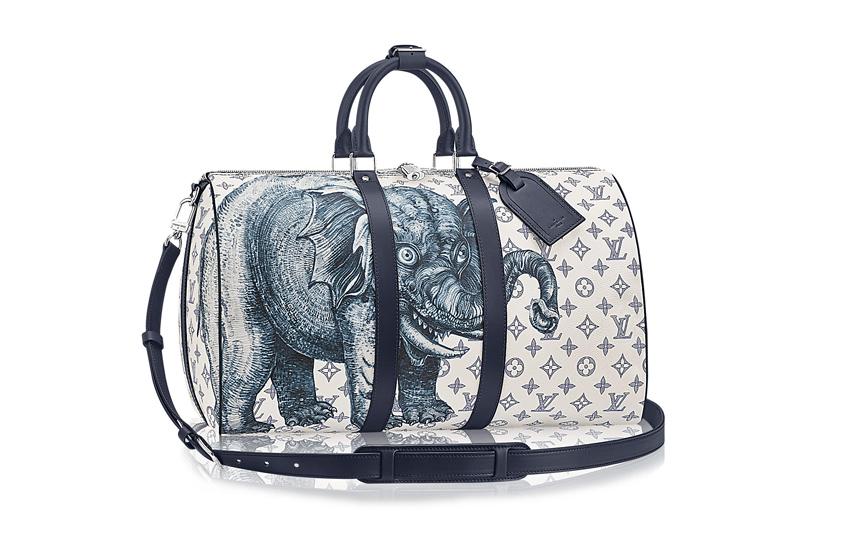 Дизайн  братьев Чепмен для сумок Louis Vuitton