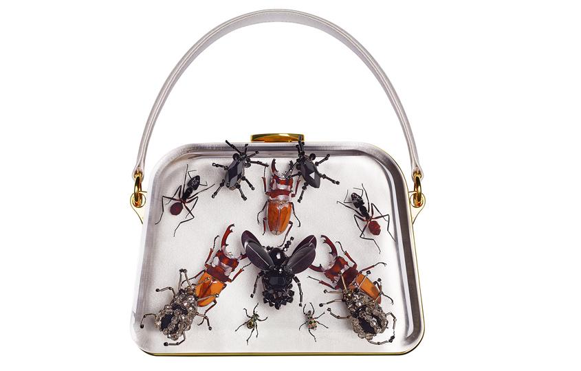 Дизайн Дэмиена Херста для сумок Prada