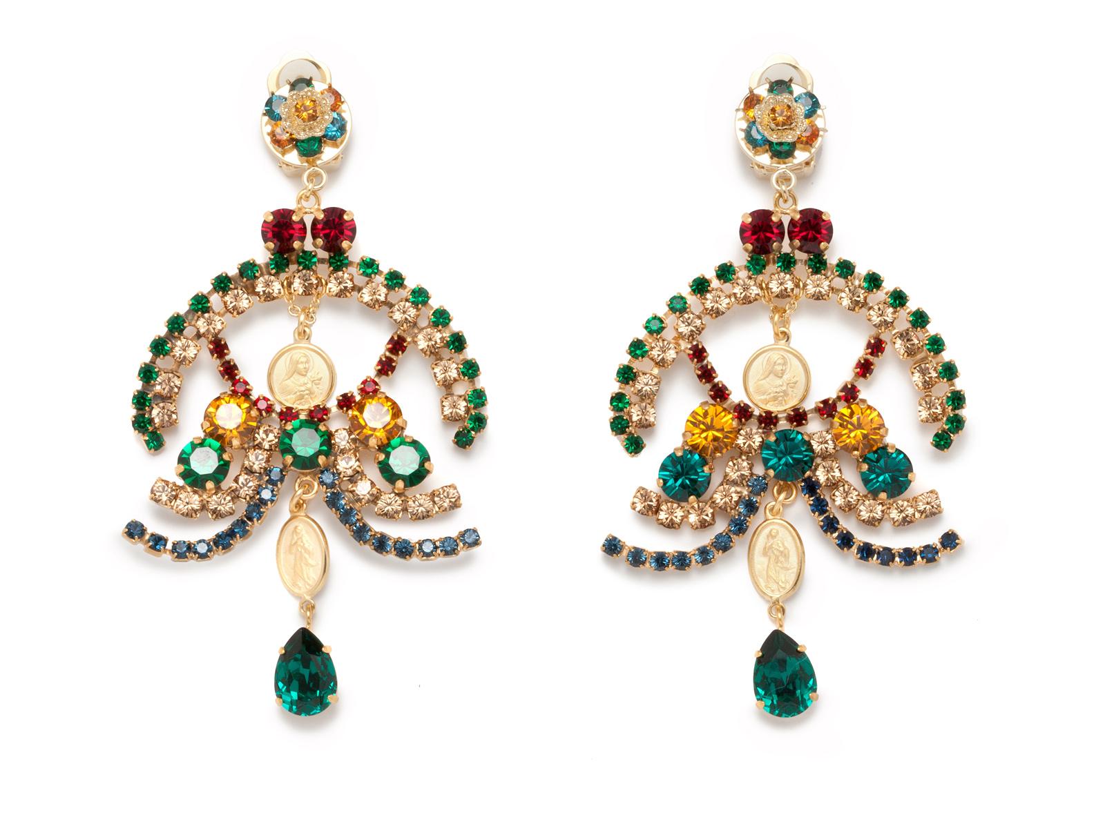 Серьги, Dolce & Gabbana  Третьяковский пр-д., 8, тел. (495) 933 3376
