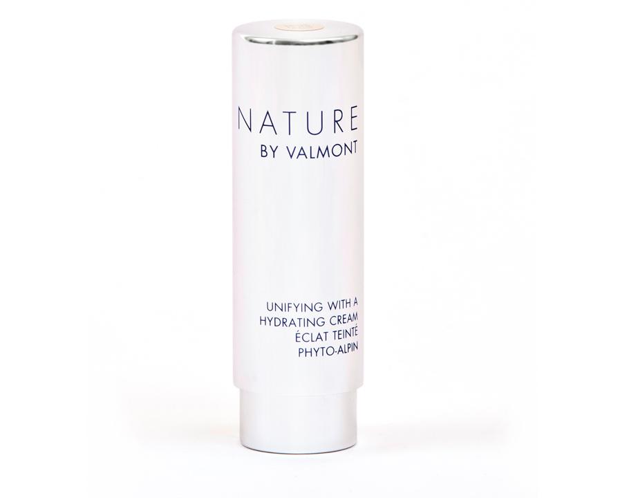 Увлажняющий крем стонирующим эффектом Unifying With AHydrating Cream, Beige Nude, Valmont:Крем нетолько отлично увлажняет ивыравнивает кожу, ноипридает оттенок легкого загара.