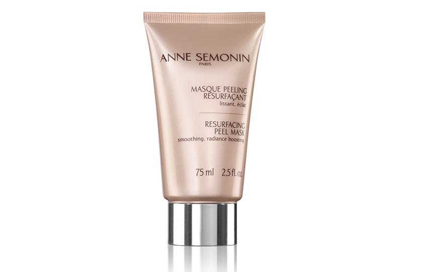 Очищающая ирегенерирующая маска-пилинг Resurfacing Peel Mask, Anne Semonin, сфруктовыми кислотами иферментами удаляет омертвевшие клетки кожи иделает еегладкой ировной всего занесколько секунд.