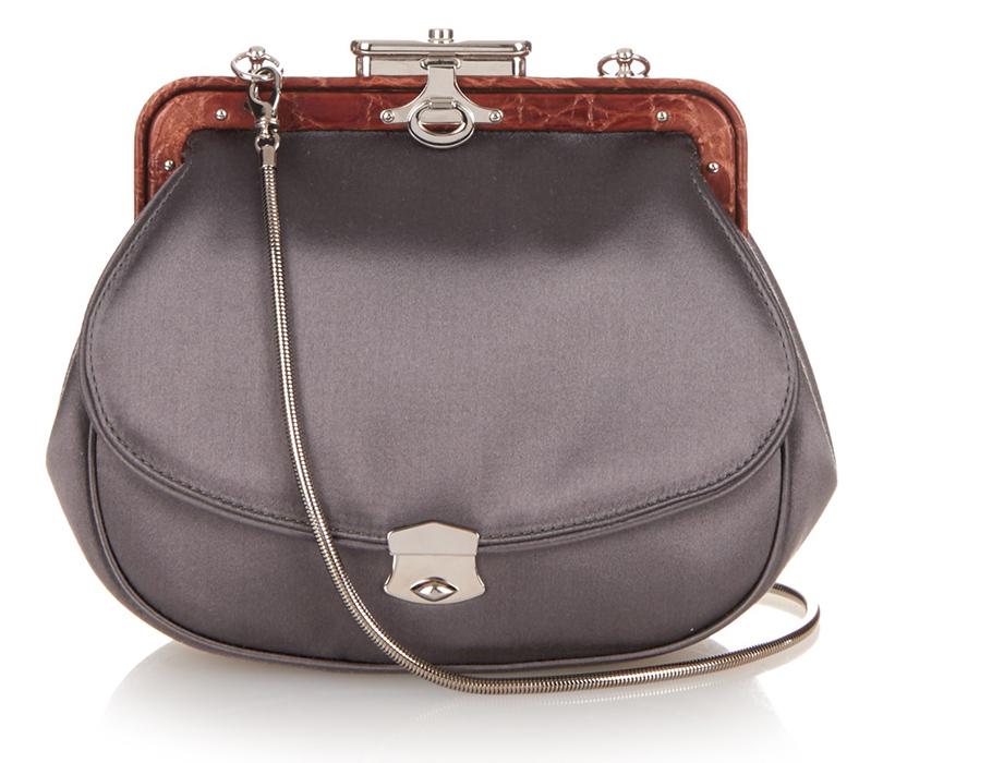 Сатиновая сумка Myriam Schaefer