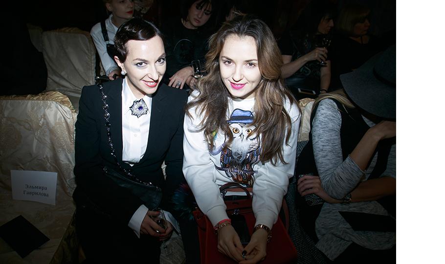 Мария Лобанова и Катя Добрякова