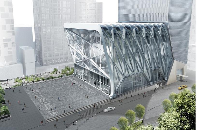 Строительство арт-центра Shed вНью-Йорке