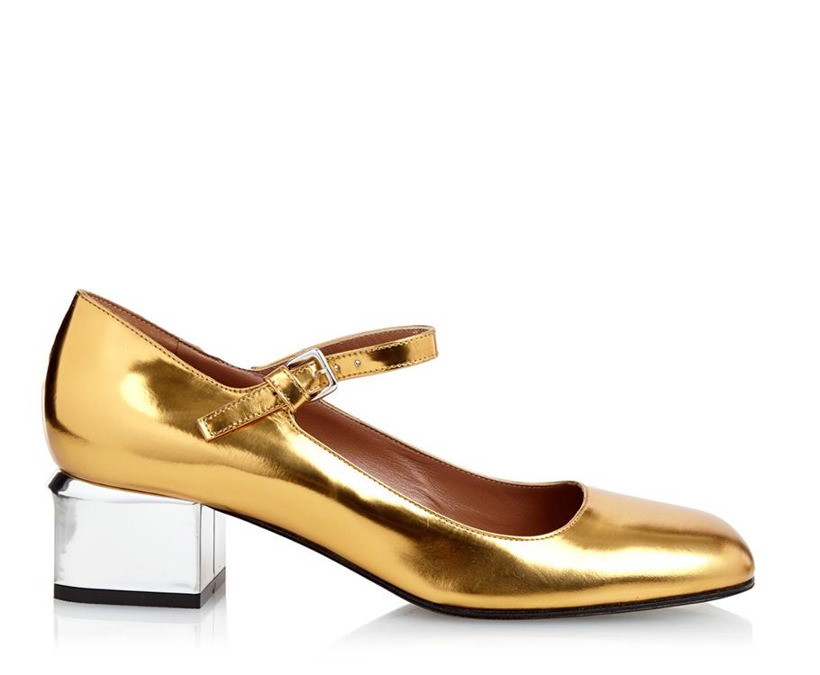 Туфли наустойчивом пластиковом каблуке Marni